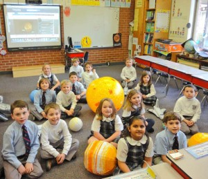 Worcester Prep's First-Grade Participate As Space Scientists