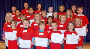 OC Elementary Honors October Students Of The Month