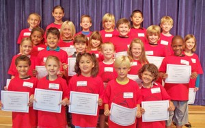 OC Elementary School Honored September Students Of The Month