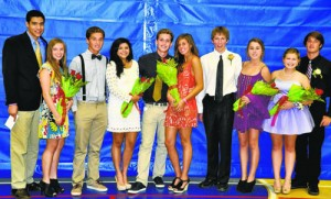 Your 2012 Worcester Prep Homecoming Court