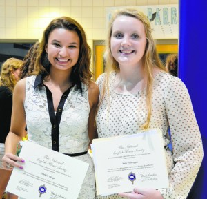 SD High 6th Annual National English Honor Society Induction Ceremony Celebrated