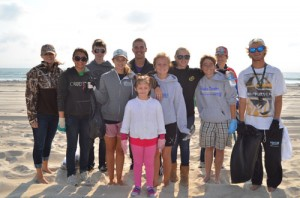 SD National Honor Society Participates In Coastal Bays Beach Clean-up