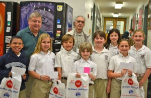 Worcester Prep Students Presented With Awards From OC-Berlin Elks Club