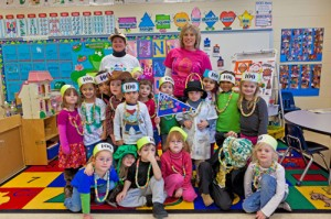 OC Elementary Pre-K Mark 100th Day With Learning Lessons