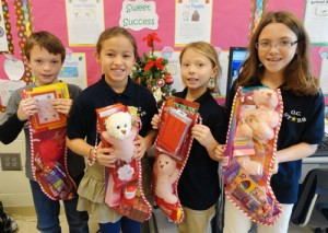 OC Elementary Third Graders Make Stockings To Donate To The Salvation Army