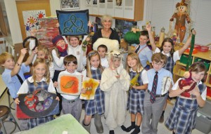 Worcester Prep Students Create Designs Made Of Felt And Silk