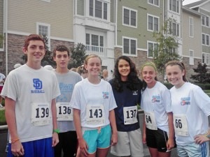 Stephen Decature High School Students Participate In The 5K Run