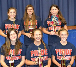 Sports Awards Presented To Worcester Prep Girls' Basketball Players
