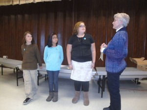 Kiwanis K-Kids At Buckingham Elementary Install Officers