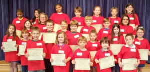 OC Elementary Honors March Students Of The Month