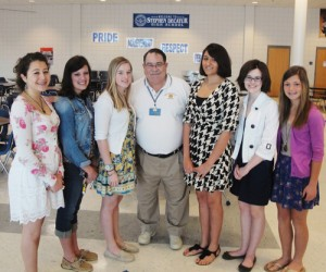 Decatur Key Club Installs New Officers