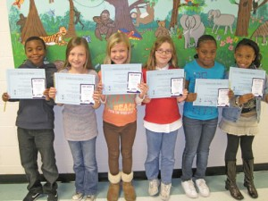 Buckingham Elementary Announced Its November Students Of The Month