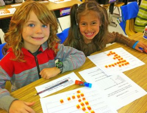Buckingham Elementary Students Display Data With Candy Corn