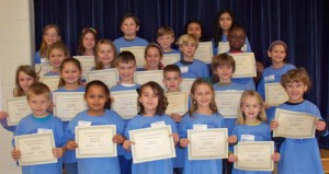 OC Elementary Honors December Students Of The Month