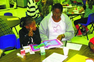 Buckingham Elementary Students Enjoy Grandparents Event
