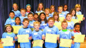 OC Elementary Honors September Students Of The Month