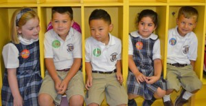 Worcester Prep Kindergarten Students Have Fun