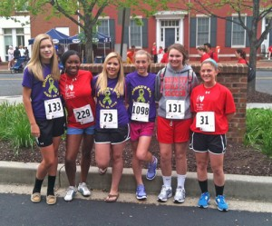 SD Students Participate In Red Shoe Shuffle 5K