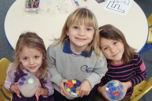 Seaside Christian Academy Pre-K Students Learn How Water Freezes