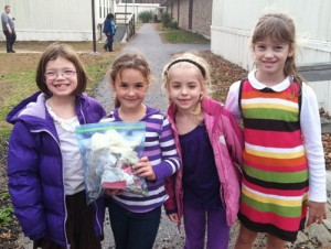 Showell Elementary Students Show Campus Respect