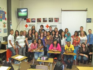 Enthusiastic HS Students Turn Out For Red Cross Rams Meeting