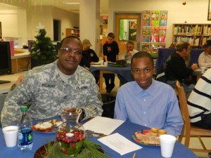 SD Middle School Students Honor Vets With And Active Servicemen With 3rd Annual Veteran's Breakfast