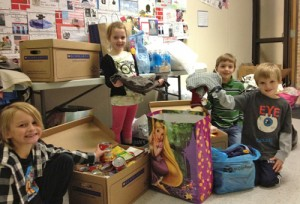 Showell Elementary Students Help Assist People Who Suffered From Hurricane Sandy