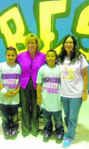 Buckingham Elementary Students And Staff Dress In Pink