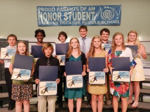 SD Middle School Students Receive Rising Star Award