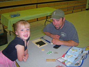 Fifty Families At Snow Hill Elementary Enjoy DIY Night