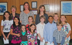 OC Elementary School Students Give Presentation On School Buddy Reader Program