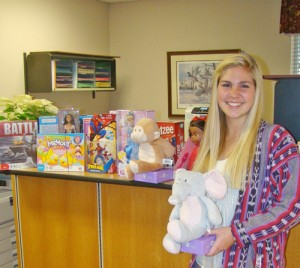 Upper School Student Gov. Of Salisbury Recently Led Toy Drive