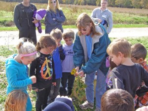 Showell Elementary Students Learn Life Cycle Of A Pumpkin