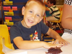 Pre-K Student Enjoy Utilizing His Sences
