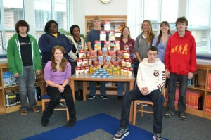 Pocomoke High School Key Club Sponsors Kids Helping Kids Food Drive
