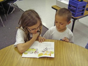 Students At Showell Elementary Enjoy Reading
