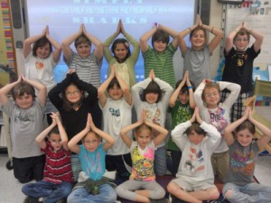 Showell Elementary Students Learn About Sharks