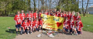 Worcester Prep Lacrosse Team Send Get Well Messages To Coach