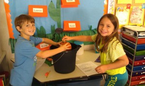 Showell Elementary Students Discover If A Pumpkin Would Sink Or Float