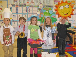 Pre-K Students At OC Elementary Take Part In Nursery Rhyme Day