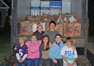 Worcester Prep Students Conduct 2nd Annual Fall Food Drive