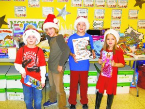 Showell Elementary Students Become Santa's Helpers