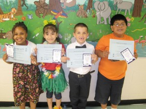 Buckingham Elementary School Announces April Students Of The Month