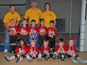 50 Worcester County Youngsters Take Part In Winter Indoor Soccer Program