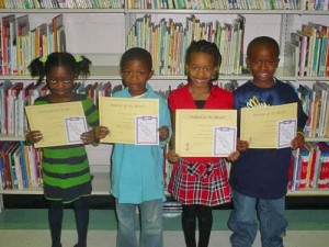 Buckingham Elementary Students of the Month