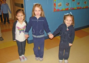Pre-K Students At Most Blessed Sacrament's Catholic School Celebrate Catholic Schools Week