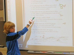 OC Elementary Third Grader Leads Class Discussion