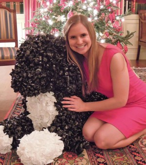 Former Worcester Prep Student Attends White House Christmas Party