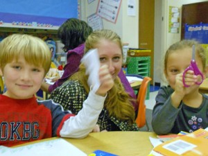 Showell Elementary Students Learn About Snowflakes During Weather Lesson