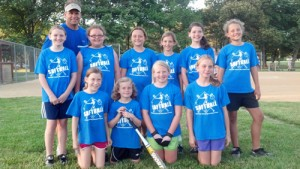 Berlin Rays Girls' Softball Team Completes Perfect Season